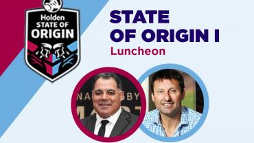 Mal Meninga & Laurie Daley at the State of Origin Luncheon