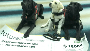 Future2 supports Smart Pups Assistance Dogs