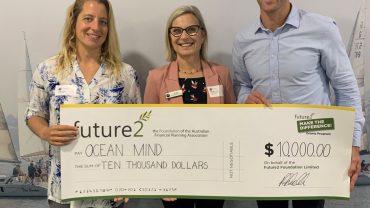 Ocean Mind receives grant cheque